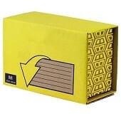Caja extensible mediana (M) 100x230x130mm(pack 10)